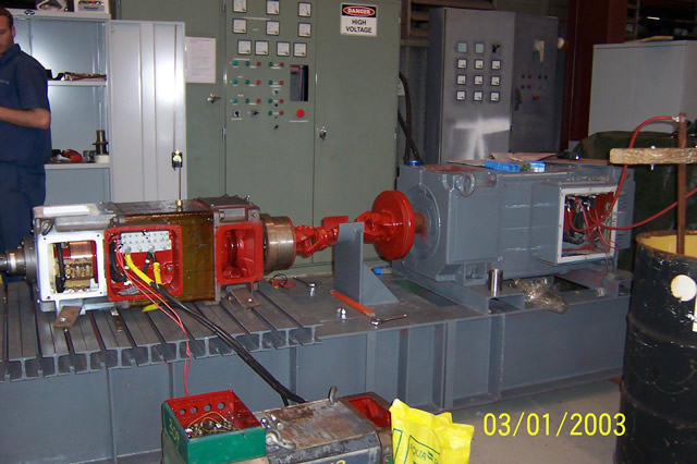 Westinghouse Large Electric Motors Dc