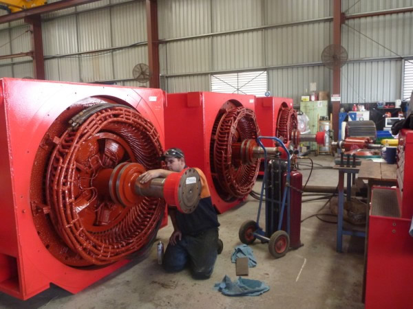 High Voltage Motor Services Ac Hargreaves Electric